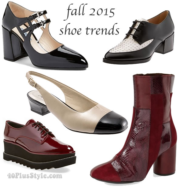 Best shoe trends and shoes for fall 2015  | 40plusstyle.com