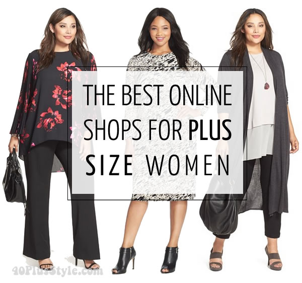 best online stores and brands for women over 40 | 40plusstyle.com