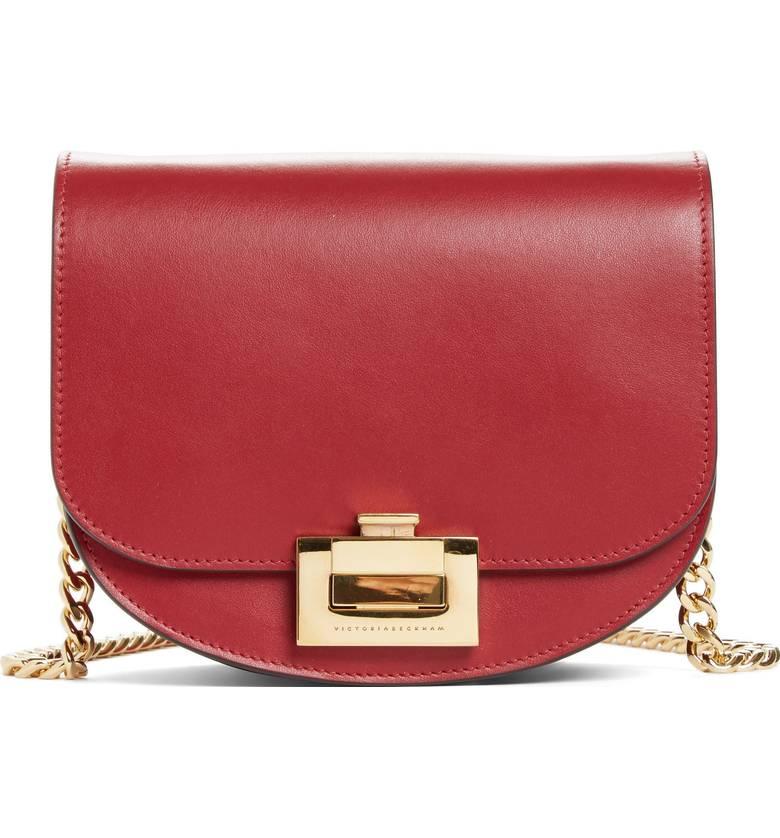Victoria Beckham crossbody bag | 40plusstyle.com
