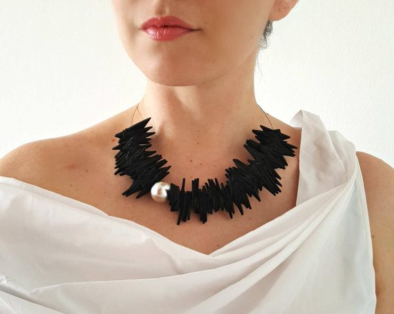 Very arty jewelry using a variety of materials that will add a arty vibe to your looks. | 40plusstyle.com