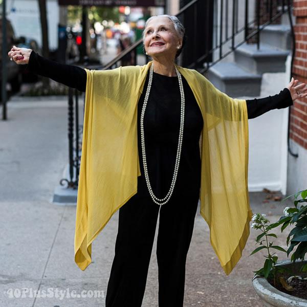 Joyce Caparti Advanced Style | 40plusstyle.com