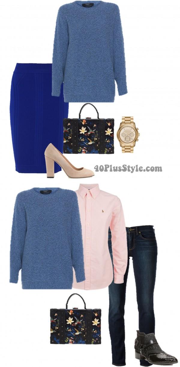:uxury Chic Oversized Cashmere Sweater | 40plusstyle.com
