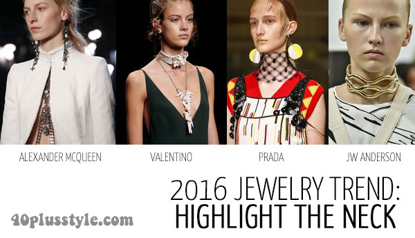 accessories trends 2016: jewelry | 40plusstyle.com