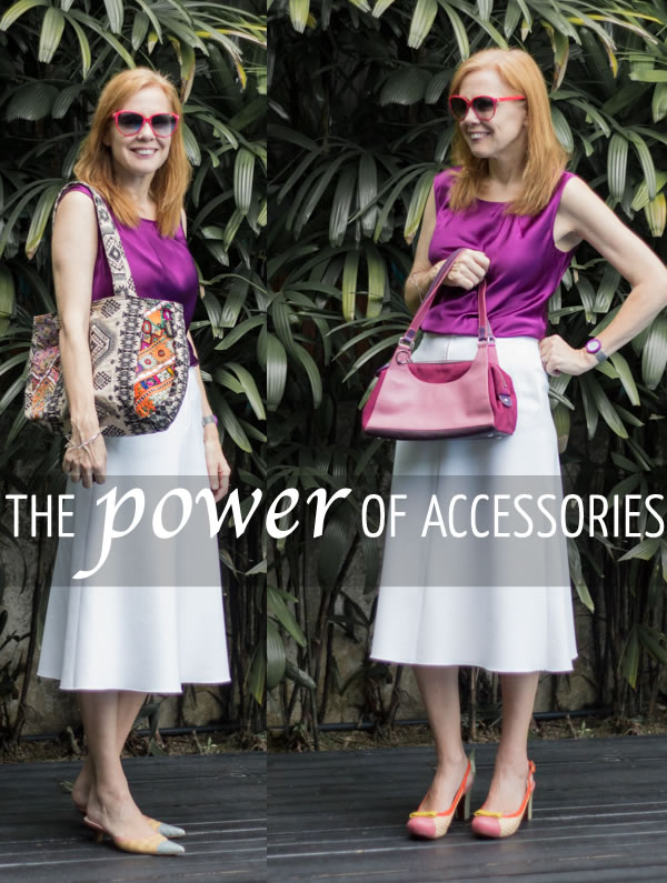 How to complete your outfits with acessories | 40plusstyle.com