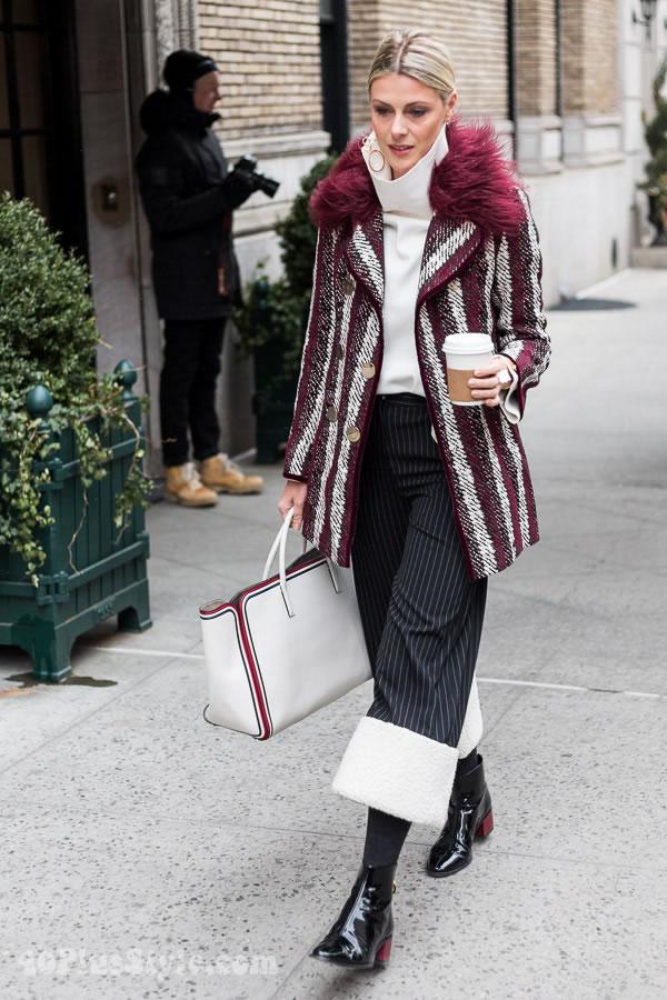 Streetstyle inspiration: mod and glamorous   40plusstyle.com