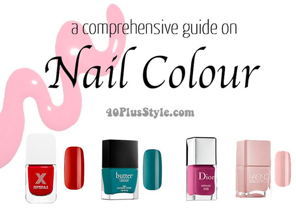choose the right nail color | 40plusstyle.com