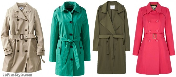 spring trench coat must have | 40plusstyle.com