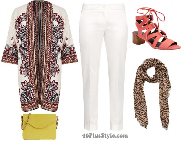 White pants | 40plusstyle.com