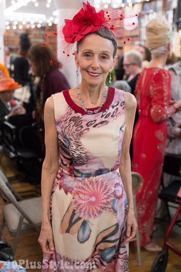 Style inspiration: Carola Vecchio at the Advanced Style book launch