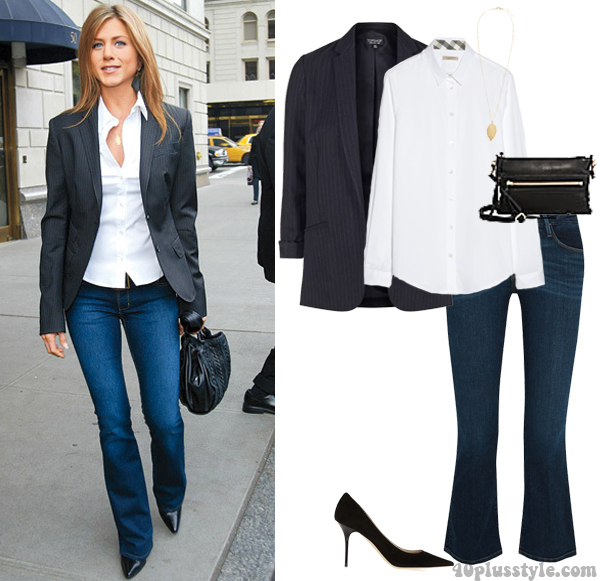 How To Wear This Simple Chic Look By Jennifer Aniston