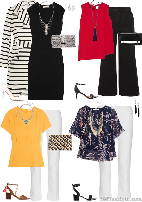 How a necklace can change your outfit   40plusstyle.com
