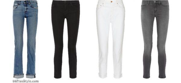 Emmanuelle Alt jeans style Vogue French | 40plusstyle.com