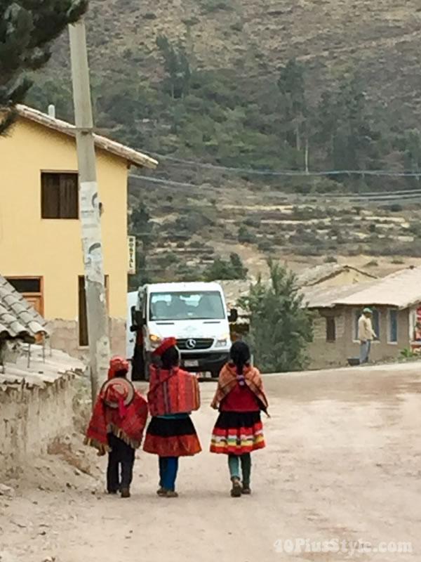 Locals of Peru, South America | 40plusstyle.com