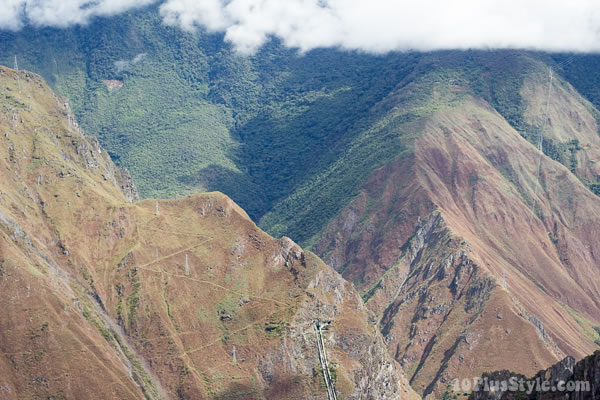 The hills of Machu Pichu | 40plusstyle.com