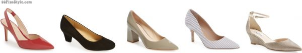 pointed toe pumps slimmer | 40plusstyle.com
