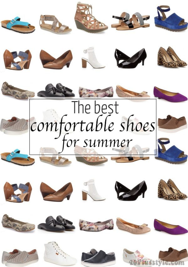 The best comfortable shoes for summer | 40plusstyle.com