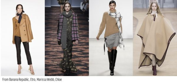 The best fall 2016 accessory trends for women over 40: Scarves by Banana Republic  40plusstyle.com