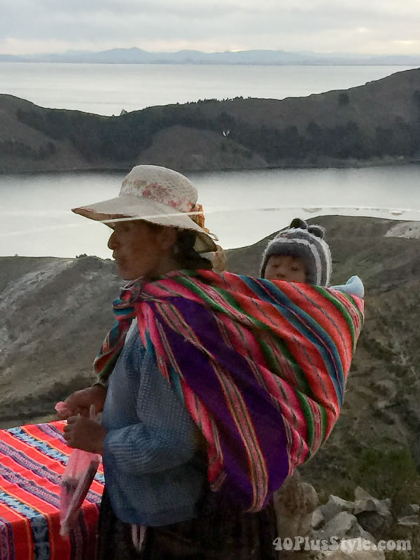 Style inspiration: the style of native South American women and the different uses of ponchos | 40plusstyle.com
