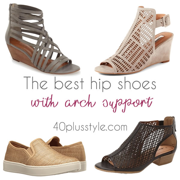 best arch support shoes for 40
