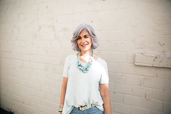 Great style at any age - A style interview with Lisa | 40plusstyle.com
