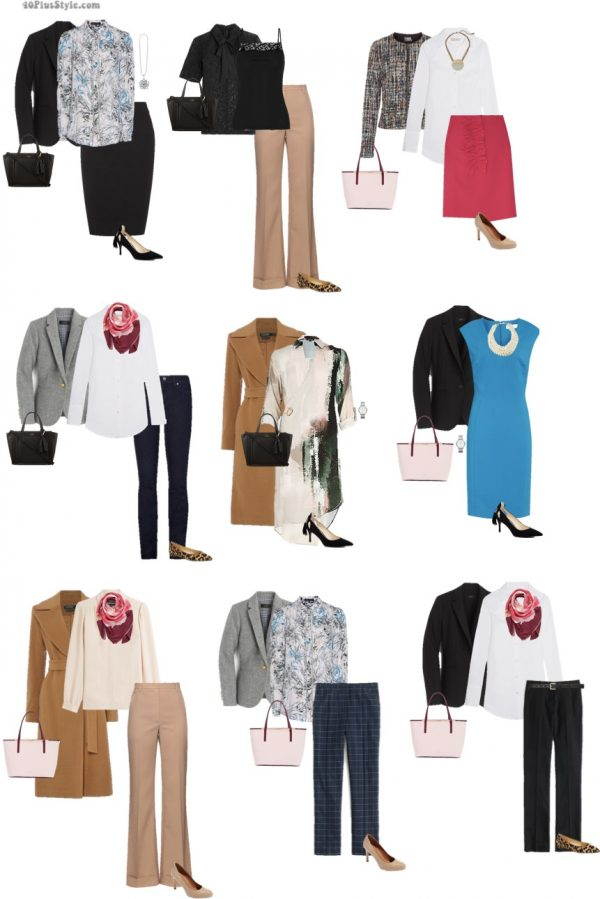 How to dress for work: 9 chic looks for the office and women who work | 40plusstyle.com