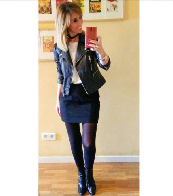 #40plusstyle inspiration: edgy winter outfit | 40plusstyle.com