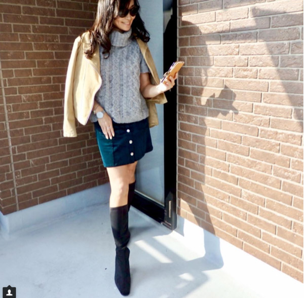 #40plusstyle inspiration: chic winter outfit | 40plusstyle.com