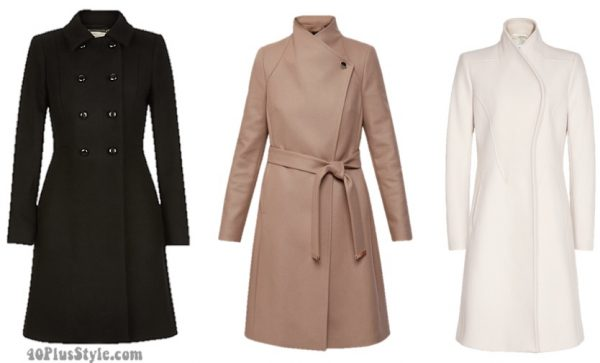 winter capsule wardrobe: wool coat basics | 40plusstyle.com