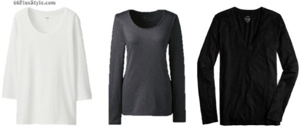 neutral long sleeves   40plusstyle.com