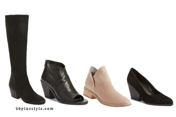 On trend Eileen Fisher boots and shoes to create your perfect capsule wardrobe. 40plusstyle.com