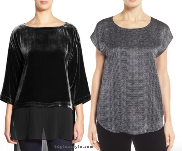 How to add Eileen Fisher tops to create your perfect capsule wardrobe. 40plusstyle.com