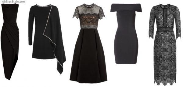 christmas holiday gift guide: black dress for christmas | 40plusstyle.com
