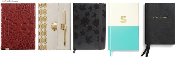 christmas holiday gift guide: journals | 40plusstyle.com