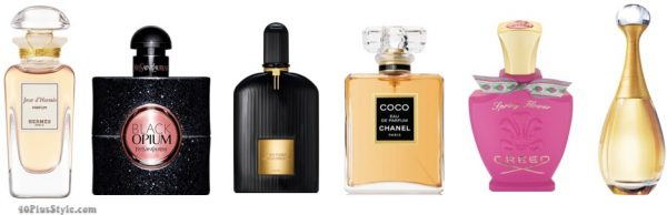 christmas holiday gift guide: perfume for women | 40plusstyle.com