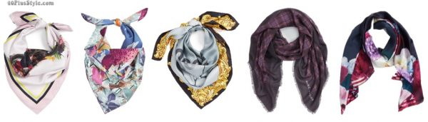 christmas holiday gift guide: silk scarves | 40plusstyle.com