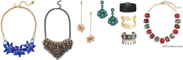 christmas holiday gift guide: statement necklace | 40plusstyle.com