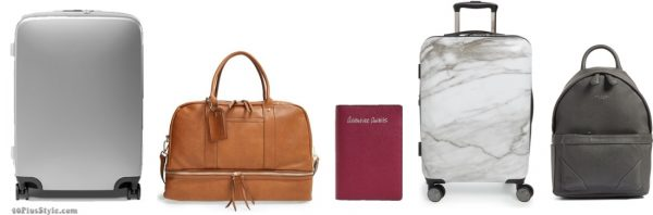 christmas holiday gift guide: passport holder and travel necessities | 40plusstyle.com