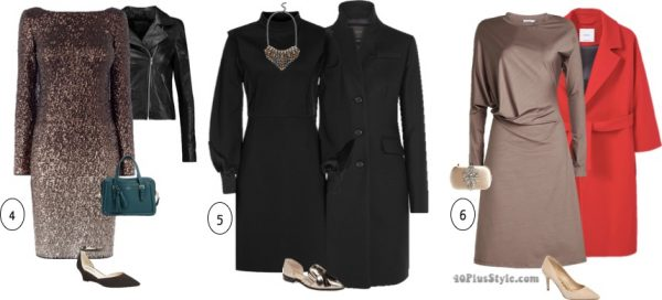 sequin long sleeve party dress   40plusstyle.com