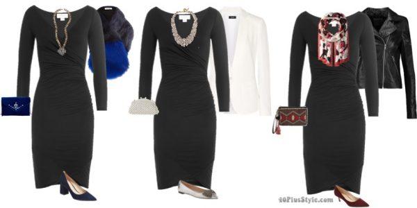 long-sleeve party dress little black dress   40plusstyle.com