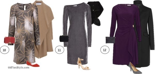 The best party dresses with sleeves for winter   40plusstyle.com