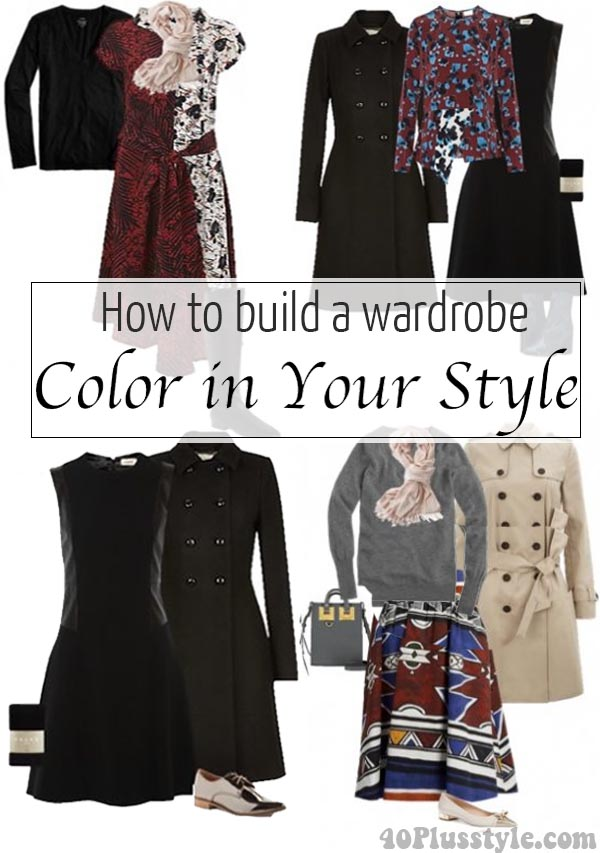 How to build a wardrobe: Color in your style | 40plusstyle.com