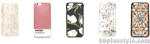 iphone cases | 40plusstyle.com