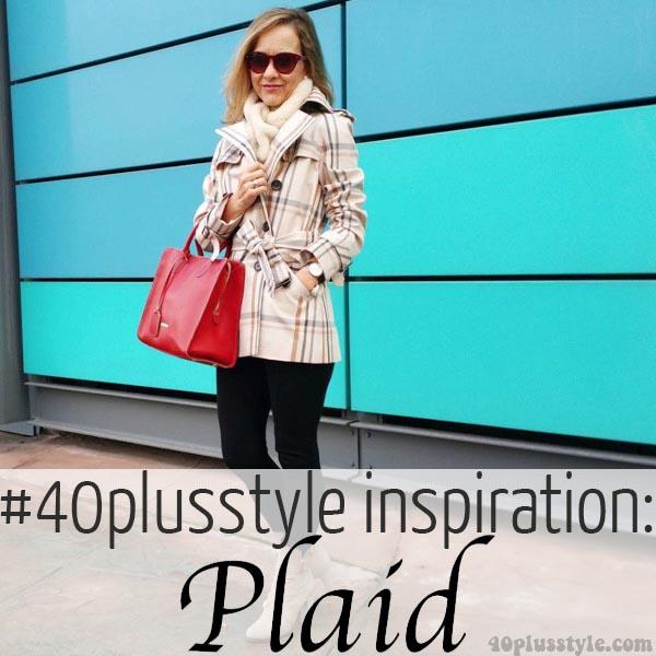 #40plusstyle inspiration: Plaid | 40plusstyle.com