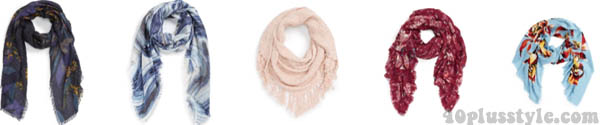 scarves | 40plusstyle.com