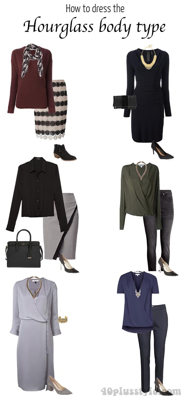 How to dress the hourglass body type   40plusstyle.com