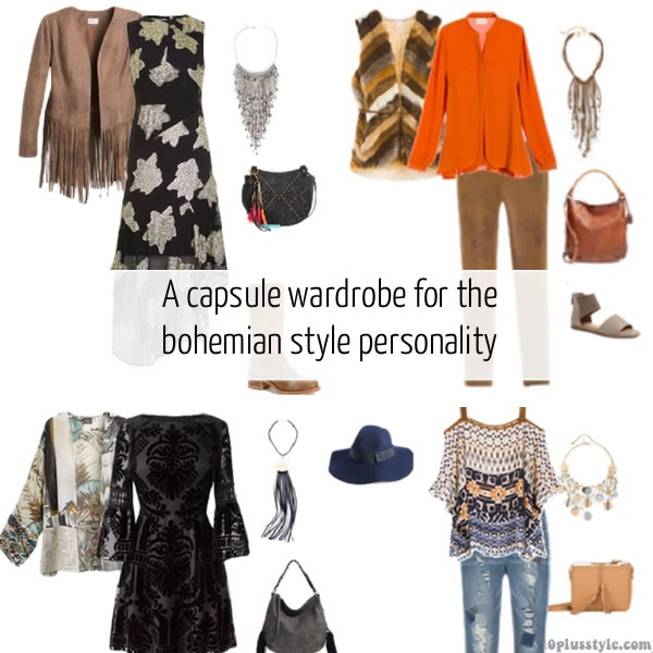 A Capsule Wardrobe For The Bohemian Style Personality