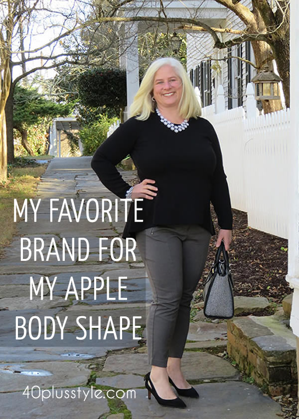 Brand focus: Alfani - A great brand for apple shaped women! | 40plusstyle.com