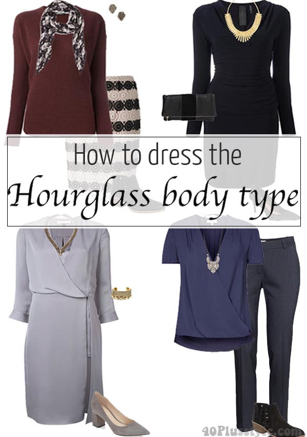 How to dress for the hourglass body shape