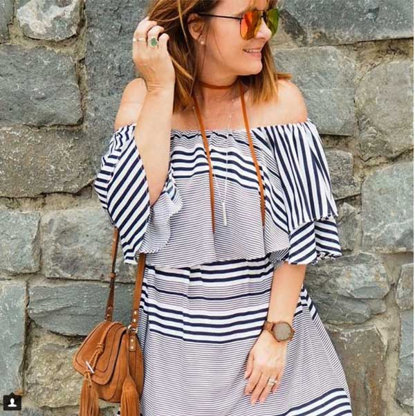 #40plusstyle inspiration: Stripes | 40plusstyle.com