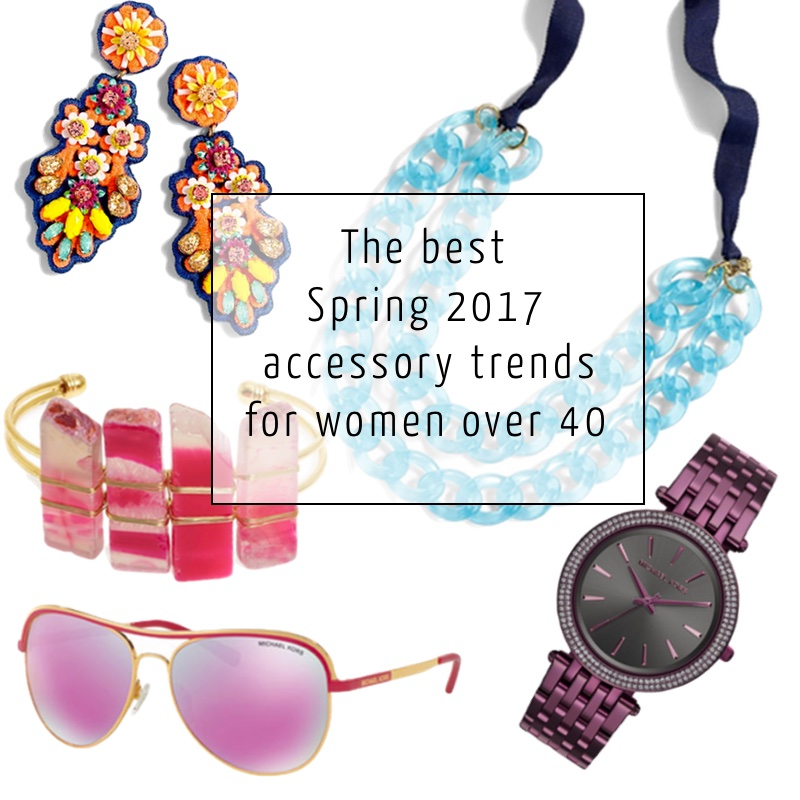 Post image for The best Spring 2017 accessory trends for women over 40